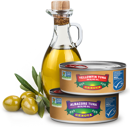 Premium Canned Tuna in Olive Oil