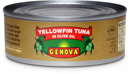 Yellowfin Tuna in Pure Olive Oil