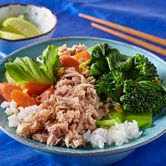 Stir-Fried Ginger Scallion Tuna Recipe