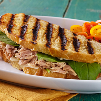 Tuna Basil Parmesan Panini Recipe, Tuna Sandwich Recipes