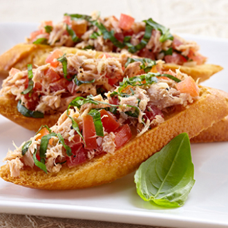 Tuna Crostini Recipe, Tuna Appetizer Recipes