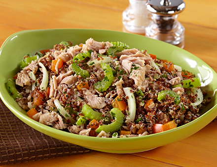 Crunchy Quinoa Tuna Recipe, Tuna Salad Recipes